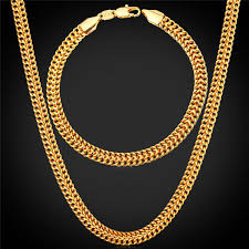 2019 men s 18k stamp gold chain for men jewelry fancy jewelry design gold plated new fashion chain necklace bracelet set from yoyozhen 17 87 dhgate com