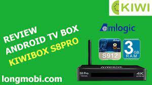 KIWI BOX S8 PRO - S912 8X 3GB ram - Bứt phá sức mạnh
