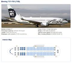 Alaska Airlines Aircraft Seatmaps Airline Seating Maps And