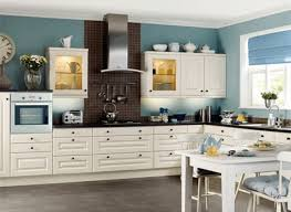 Latest Beautiful Kitchen Color Blue Walls Kitchen Light Blue Wall Regarding Kitchen  Decor