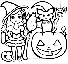 Dessin Coloriage Halloween Imprimer