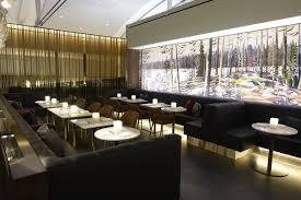 air canada signature suite toronto dining area