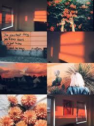 Orange Aesthetic Wallpaper - NawPic