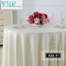 yrf happy birthday round silver table tablecloth wedding