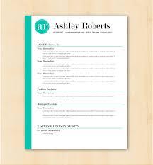 Cute Turquoise Resume Template Vector Premium Download Microsoft