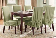 cotton duck short dining chair slipcover dining room chair coversfolding