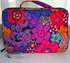 item 5 vera bradley fl fiesta large blush brush makeup case and organizer nwt vera bradley fl fiesta large blush brush makeup case and