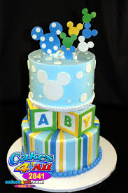 Baby Mickey Baby Shower  CakeCentralcomBaby Mickey Baby Shower Cakes