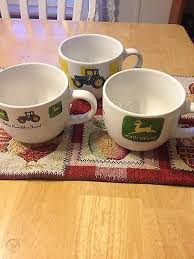 Get the best deal for john deere cups, mugs & steins from the largest online selection at ebay.com. 3 John Deere Tractor Large Handled Jumbo Mugs Bowl Soup Coffee Cup By Gibson 501602546