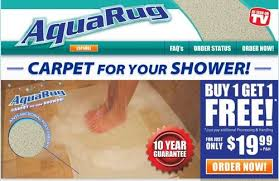 a screenshot of a website where aqua rugs could be purchased tristar products inc