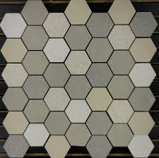 porcelain mosaic sand hexagon pattern floor tile 2â ³ glass and stone hex patterns marble