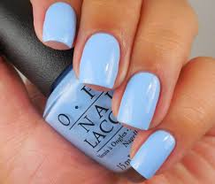 Light Blue Nail Polish Names Opi The Is Have It A Light Blue Creme Nail Shimmer