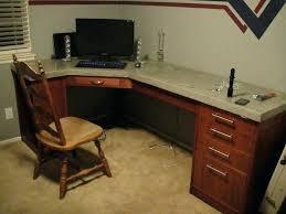 countertop desk polished concrete desk ikea countertop desk diy