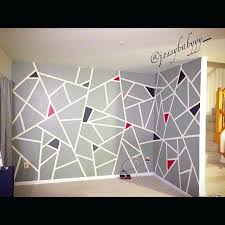 geometric wall paint tape best images about frog tape designs on home interior design pictures india geometric wall paint tape