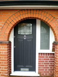arched front doorFront Doors  Door Design Door Inspirations Black Front Door With