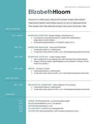 Free Resume Templates You Ll Want To Have In 2018 Downloadable