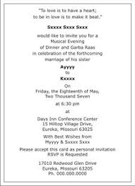 Wedding Sangeet Ceremony Invitation Wordings,Sangeet Ceremony ...