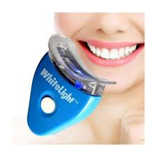 How To Use White Light Tooth Whitening System The Pearl White Light Teeth Whitening System Device Blue