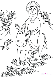 Small Picture Palm Sunday Coloring Page And kiopadme