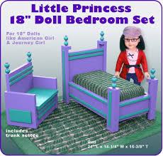 Little Princess 18 Doll Bedroom Set PDF Download   Etsy