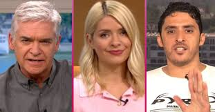 I'm a celebrity debut for holly willoughbyi'm a celebrity debut for holly willoughby. This Morning Philip Schofield Holly Willoughby Told Off By Guest
