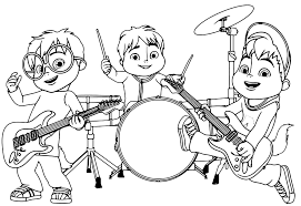 Disegni Di Alvin And The Chipmunks Da Colorare