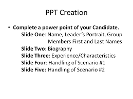 powerpoint biography design a leader powerpoint directions content over fluff your