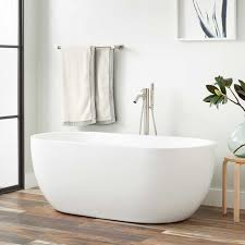 boyce acrylic freestanding tub tap deck no rim holes
