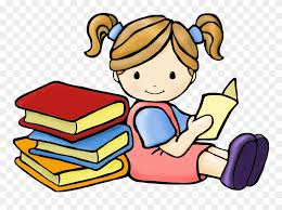 Free Download Clipart Shhh Clipart Girl Reading Book Clipart Free Download