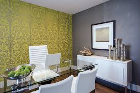 wallpapered office home design. Spectacular Peel And Stick Wallpaper Lowes Decorating Ideas Gallery In Home Office Eclectic Design Wallpapered G