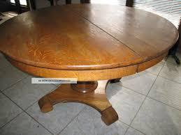 Round Wooden Kitchen Table Antique Oak Round Kitchen Table Best Kitchen Ideas 2017