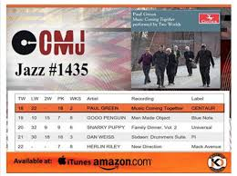 Paul Green Music Moves Up To 18 On The Cmj Top 40 Jazz