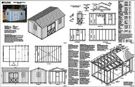 Small Picture 16 X 16 Shed Plans Free Storage Shed Designs 5 Features To Look