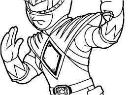 Power Rangers Coloring Pages Printable Power Rangers Coloring Page