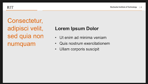 Powerpoint Template Toolkits Brand Portal Rochester Institute