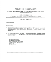 Sample Of Proposal Letters Example Proposal Letter 7 Sample Of Proposal Letter For Services