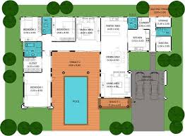 house plans pool swimming 58000 house floor plan with swimming pool yadkinsoccer com on ranch house