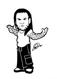 Small Picture Wwe Divas Coloring Pages Bret Hart Coloring Pages Wwe Printable