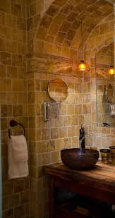 rustic stone bathroom designs. Free Style Small With Brick Fireplace Design Rustic Stone Bathroom Designs