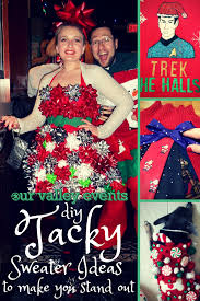 10 DIY Ugly Christmas Sweaters For The Holidays  ThegoodstuffUgly Christmas Sweater Craft Ideas