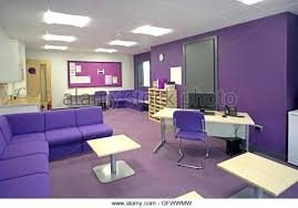 color scheme for office. Lavender Color Scheme Staff Administration And Office Area In A Brand New Primary School Shows Desk Teal For