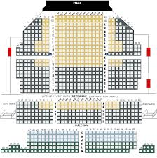 Colonial Theater Seating Chart 65 Timeless New Theatre Seating Chart