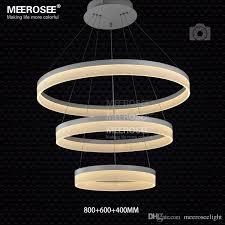 multi rings led pendant light modern led ring acrylic suspension lamp aluminum drop light md5060 led lighting fixture led chandelier modern ure