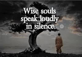 Αποτέλεσμα εικόνας για Η Αλήθεια είναι «Σιωπή», δεν είναι λόγια.