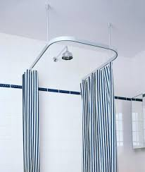 brushed nickel bathroom decorating smart rod double curved tension shower curtain rod smart smlf
