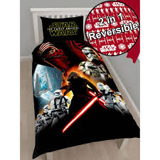 star wars episode vii kylo ren awaken single duvet cover and pillowcase set