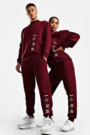Eligible for free shipping and free returns. Her Embroidered Sweat Tracksuit Boohoo Finland