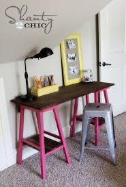 Home Office Furniture Ottawa Adorable DIY Desk Idea Bar Stool Bases DIY Pinterest Diy Desk DIY And