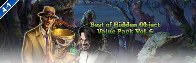You will be given a list and be in a scene with many items. Best Of Hidden Object Value Pack Volume 6