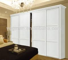 sliding door bedroom furniture. Wedding Bedroom Furniture White Sliding Door Laminate Wardrobe Designs